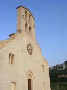 facciata della chiesa di San Claudio a Spello