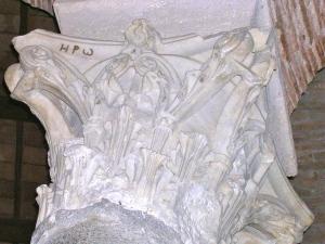 La sigla a lettere greche si trova in una chiesa paleocristiana di Perugia
