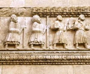 pellegrini medievali - foto A.Bazzoli