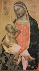 Madonna dell'umiltà di Allegretti Nuzi. Pinacoteca di San Severino Marche.