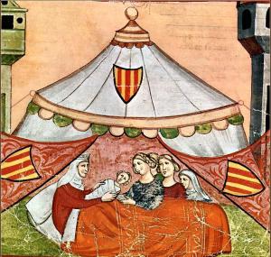 nascita di Federico II da Costanza d'Altavilla