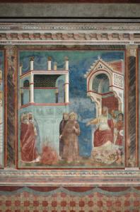 Chiesa superiore di San Francesco, Assisi, Francesco alla corte del sultano
